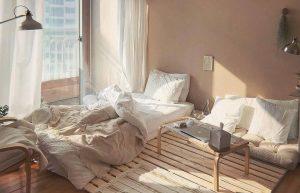 ห้องนอนสไตล์เกาหลี